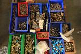 Lot of misc stainless and brass fittings, regulators, valves