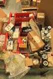 Lot of regulators, versa B valves, Wilkerson regulators, Swagelock relief valve spring kits, etc
