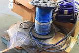 Large lot of assorted size un-used hose