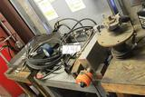 hydraulic testing station w/ table