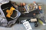 Lot of towing receiver hitches and towing components