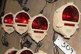 Textron MILSPEC Submersible Taillight assembly-red lens- quantity 4
