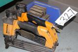 (2) Bostich crown stapler w/ staples