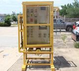 RUELCO hydraulic well test panel
