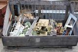 lot of scrap steel