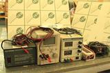 Power supplies: (2) 24v power supply, (2) 12v power supply; 12v inverter, (2) adjustable DC power
