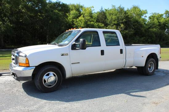 FORD 1999 F-350 7.3L Power Stroke TURBO Diesel, 6spd manual