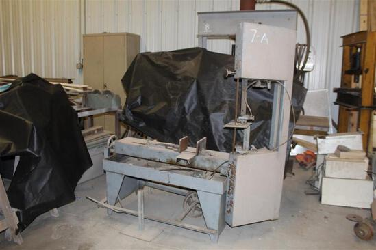Carolina Tool Bandsaw, Horizontal and Vertical