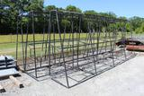 LOT OF MISC ALUM. AWNING FRAMES