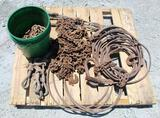 LOT OF HYD CHOKER CABLES