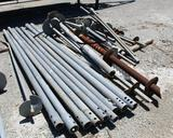 LOT OF MISC USED ANCHOR MATERIAL