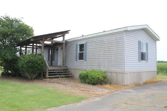 16x80 Mobile Home w/Porch