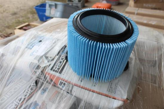 PALLET OF DRY VAC FILTERS