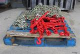 PALLET OF CHAINS + BINDERS