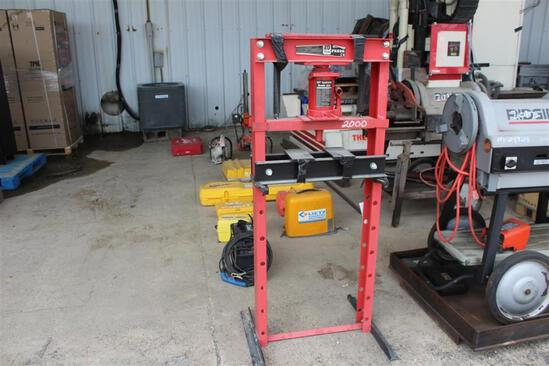20 TON SHOP PRESS (RED)