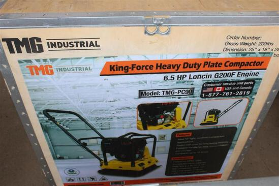 HEAVY DUTY PLATE COMPACTOR