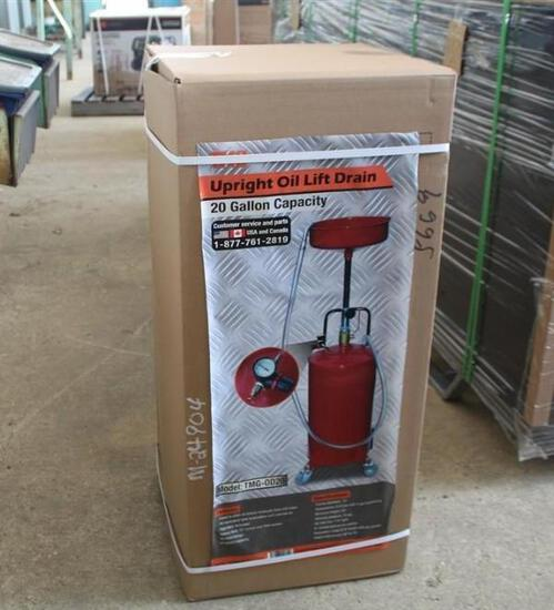 20 GALLON PORTABLE OIL DRAINER