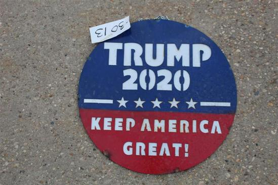 SIGN - TRUMP 2020 KEEP SOLD HERE