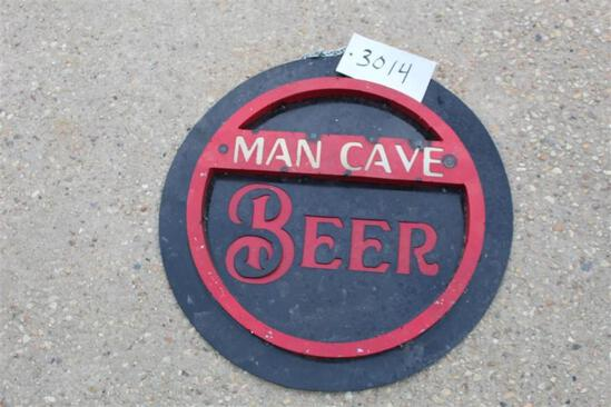 SIGN - MAN CAVE BEER