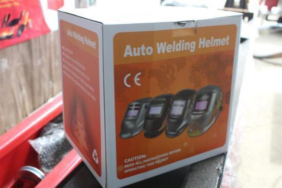 AUTO WELDING HELMET DECOR