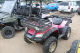 HONDA 4 WHEELER, GAS MOTOR 6 SEATER ATV