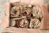 48 PIECE - 12 SETS - RED CLAY POT SETS