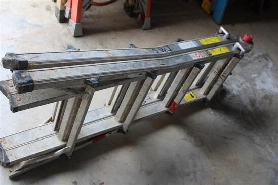 14' FOLD UP EXTENSION LADDER