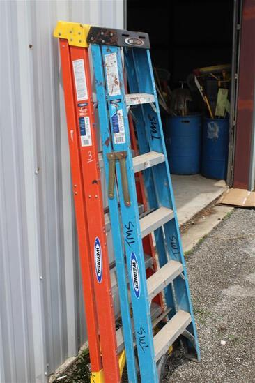 Lot of (2) 6' STEP LADDERS
