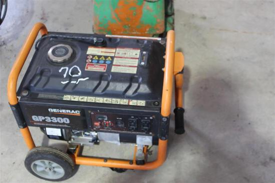 GENERAC GP 3300 GENERATOR