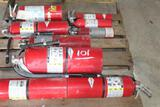 PALLET OF FIRE EXTENQUISHERS