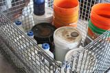 BASKET WITH CONTENTS