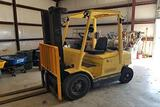 HYSTER H45XM 3-Stage Mast Forklift
