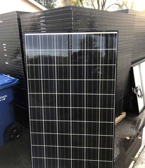 Solar Panel Online Only Auction