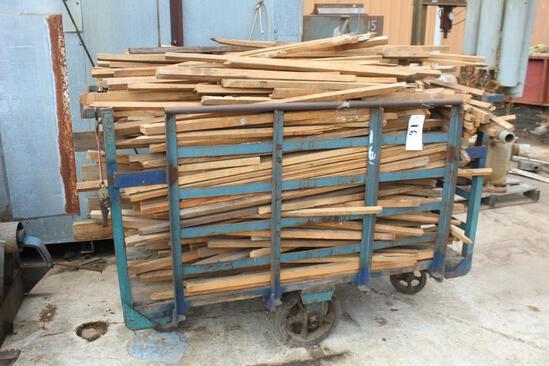 Steel Cart w/ Wood