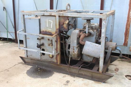 Hydraulic Pump w/ Lister Diesel Engine