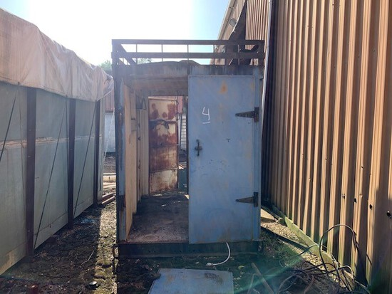 6'x8' Steel Container