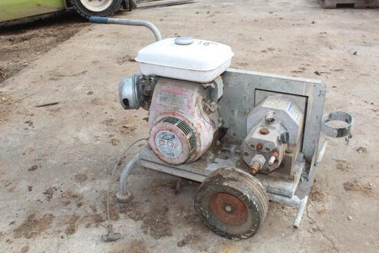 Spoiler II Airless Paintspray System w/ Honda Gas Engine