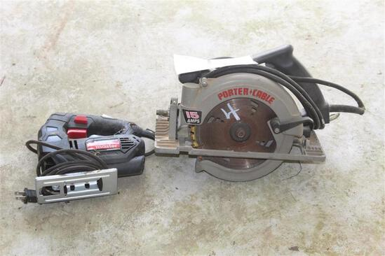 Porter Cable Skill Saw and Drillmaster Jig Saw