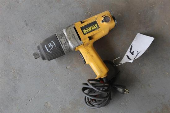 """Dewalt 3/4"""" Electric Impact Drill - DW297"""