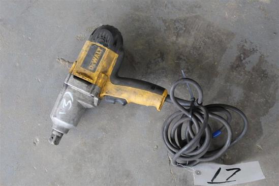 """Dewalt 3/4"""" Electric Impact Drill - DW294"""