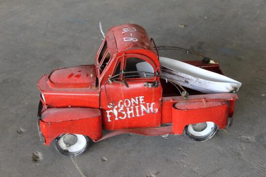 Gone Fishing Truck