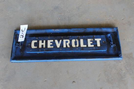 Chevrolet Metal Tailgate