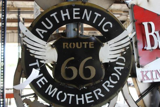 """""""Route 66"""" Sign"""