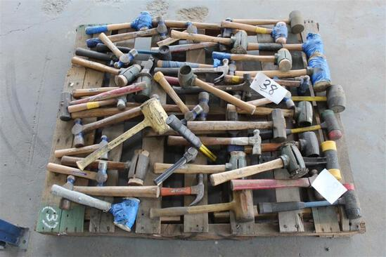 Lot of Misc Hammers