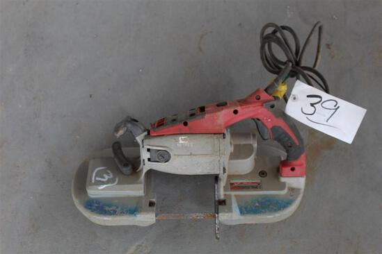 Milwaukee Electric Bandsaw Deep Cut - CAT6225