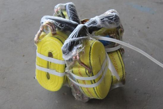 (4) Heavy Duty Straps