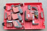 Lot of Misc - Hilti Vac Attachments w/ Milwaukee Hammer Vac