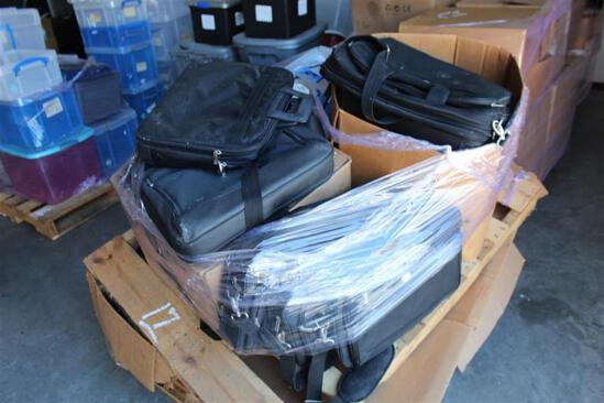 (3) Pallets of Computer bags and misc. computer equipment