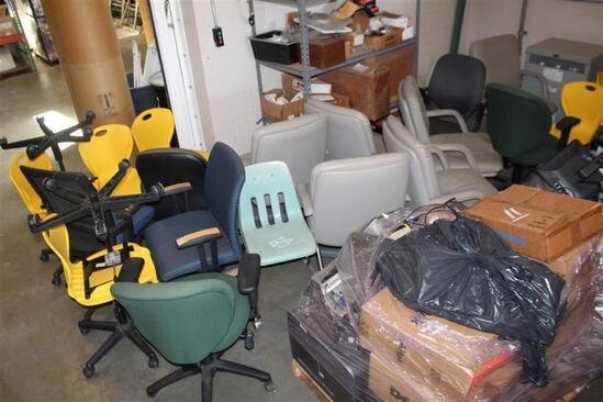 Large lot of Misc. Chairs