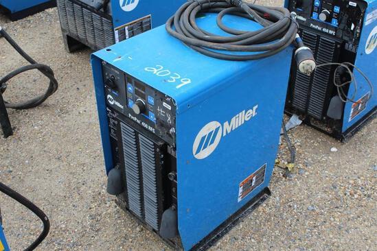 Miller Pipe Pro 450 RFC (SN: LJ240154G)